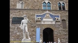 2011 Italia   Toscana, Firenze, Florence, Piazza della Signoria, Logia dei Lanzi, Palazzo Vecchio