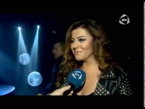 Ilqare Kazimova Yene yene klip cekilisi Aygun Kazimova produser oldu 10LAR ATV