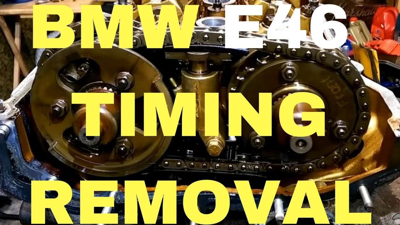 Bmw E46 M52tu M54 Timing Chain And Head Bolts Removal