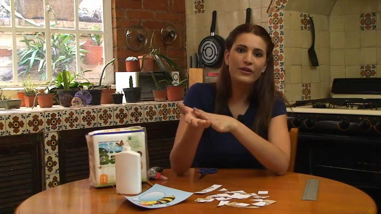 Rompecabezas para ni os peque os hecho en casa youtube - Trabajos caseros para hacer en casa ...