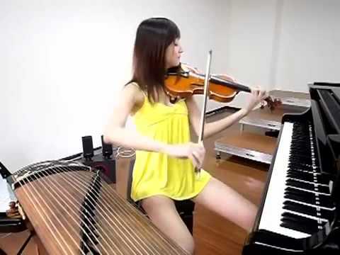 Hermosa asiatica se toca todo - Taringa!.flv
