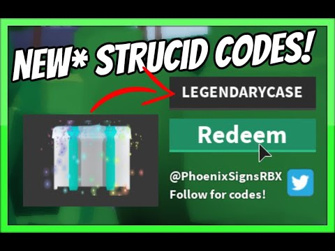 ALL STRUCID CODES! *ALL WORKING* 2020 [Roblox]