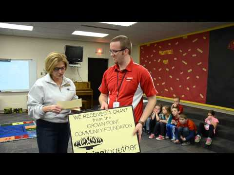 Solon Robinson receives a surprise grant for musical instruments!