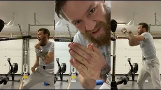 'CANELO - POP POP!' - CONOR McGREGOR BOXING RETURN? THE MAC WORKS THE BOXINGBAR