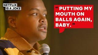 Sam Jay Got Awkward When Her GF Met Her Ex BF | Netflix Is A Joke