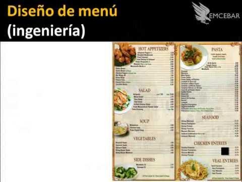 Como Hacer El Menu Para Un Restaurante Curso Online