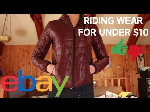 eBay Riding Fashion for under $10 YAY OR NEIGH?