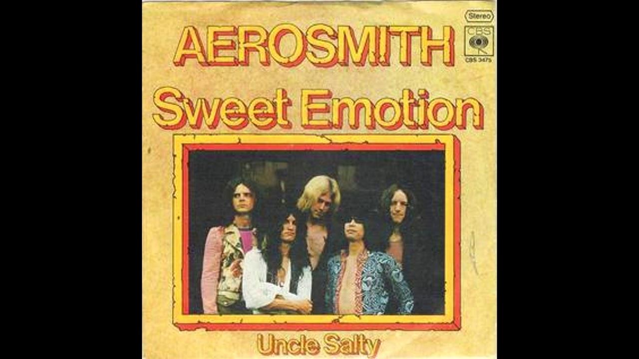 Aerosmith sweet emotion album cover, muslim sexymovie