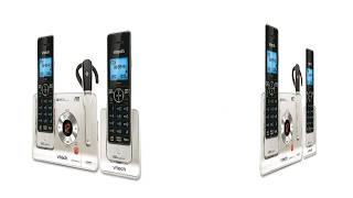 VTech LS6475 3 DECT 6 0 Expandable Cordless Phone with Answering System