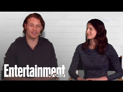 Outlander's Sam Heughan & Caitriona Balfe Reveal Celeb Crushes & More | Entertainment Weekly