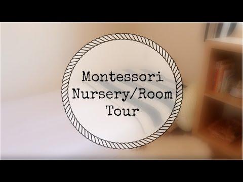 Montessori Room/Nursery Tour (0-6 Months)