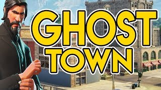 Tilted Towers Ghost Town | Fortnite Battle Royale