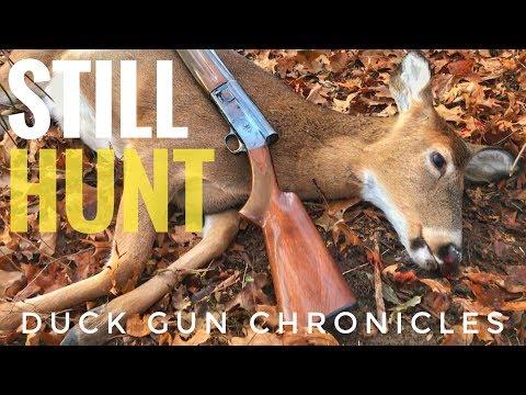 Still Hunt! Indiana Public Land Hunting: First Deer!