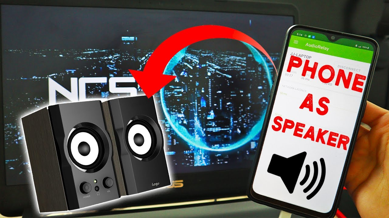 How to Use your Smartphone as a Speaker (Wireless and USB)