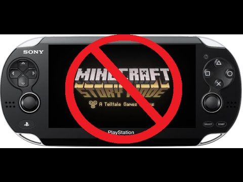 Minecraft Story Mode Trailer NOT Coming To PS Vita YouTube - Minecraft spiele fur ps vita