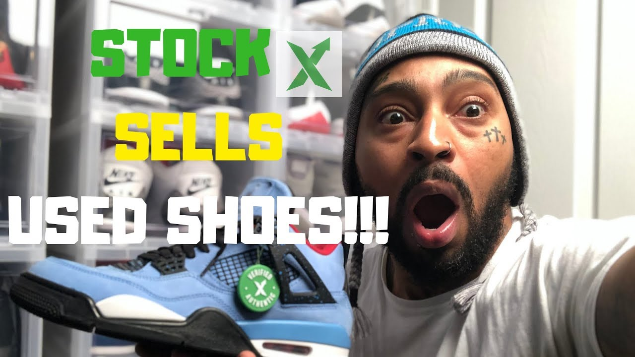 617b6816 STOCK X EXPOSED FOR SELLING USED SHOES!!! - YouTube