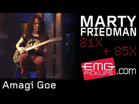 Marty Friedman performs