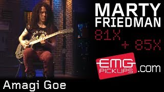 "Marty Friedman performs ""Amagi Goe"" live on EMGtv"