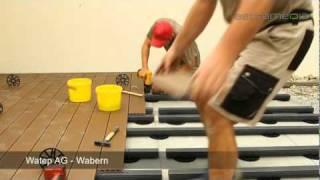 Watep AG, Wabern; Hochwertige Holzböden für draussen: Commercials / Promotional: SCHWEIZ: by ...