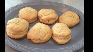 Quick and simple sourdough biscuits Cooking with Caleb #4