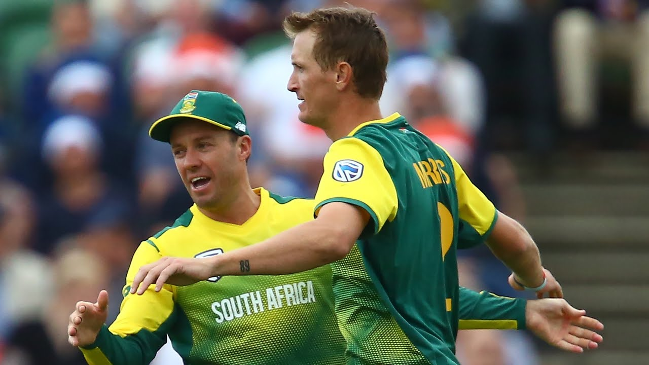 Image result for ab de villiers and chris morris