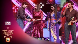 Vishal should do Enga Veetu Mappillai 2 - Arya | Galatta Nakshatra Awards