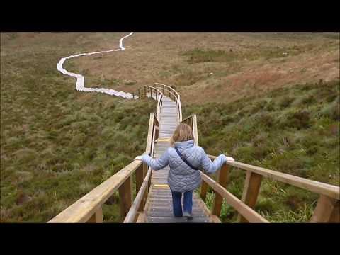 We Climb the Cuilcagh Mountain BoardWalk Co Fermanagh