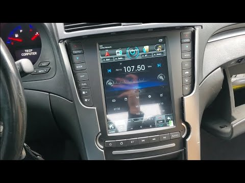 Acura TL Aspec Tesla Style Android Deck Installation Guide