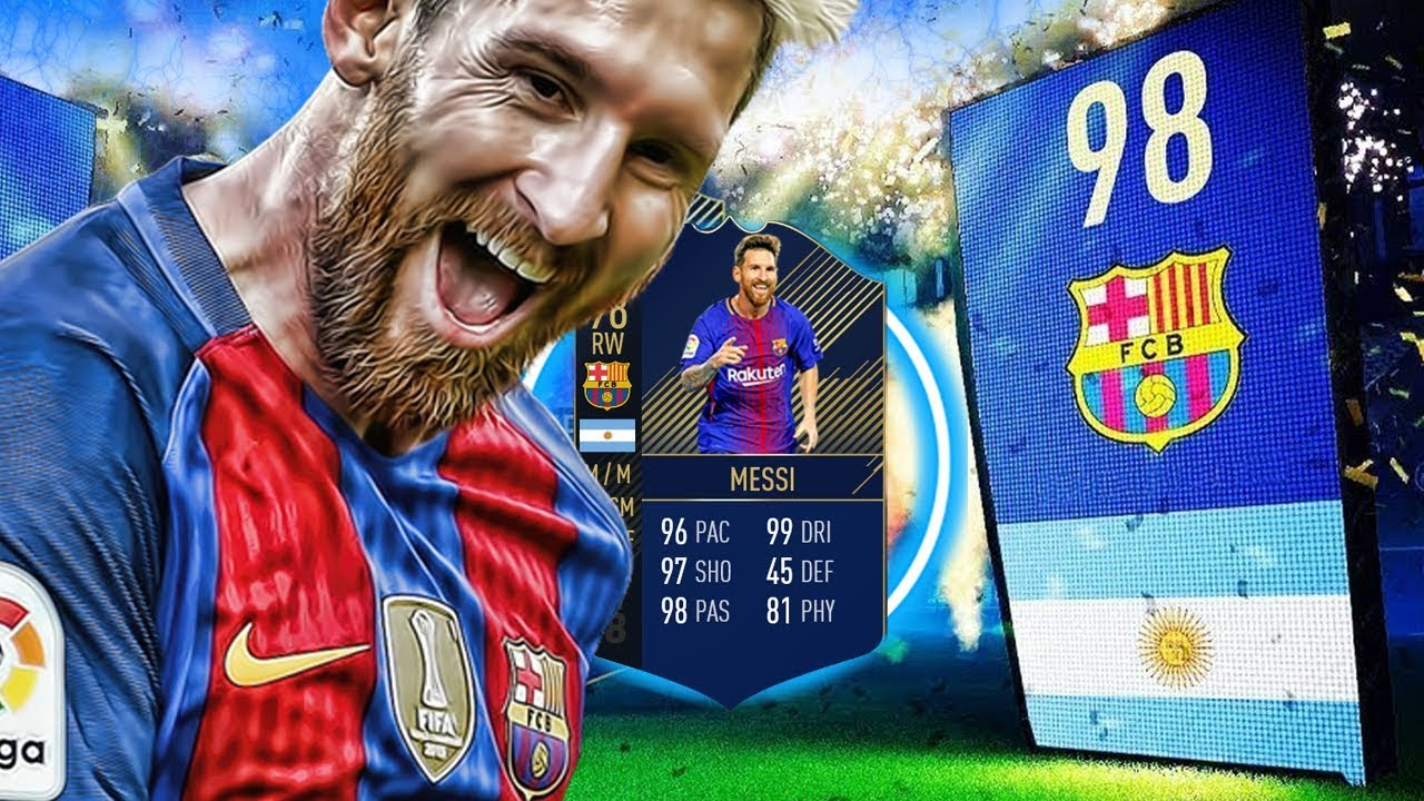 Team Of The Year Messi Player Review Fifa   Toty Lionel Messi Review Fifa  Ultimate Team