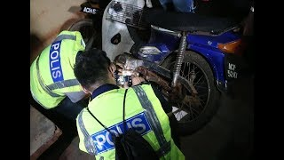 Polis sita 15 motosikal dipercayai dicuri