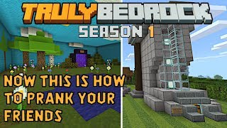How to prank your friends. 2 great pranks on Truly Bedrock S1E45