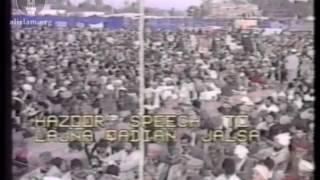 Jalsa Salana Qadian 1991 - Address to Lajna by Hazrat Mirza Tahir Ahmad, Khalifatul Masih IV(rh)