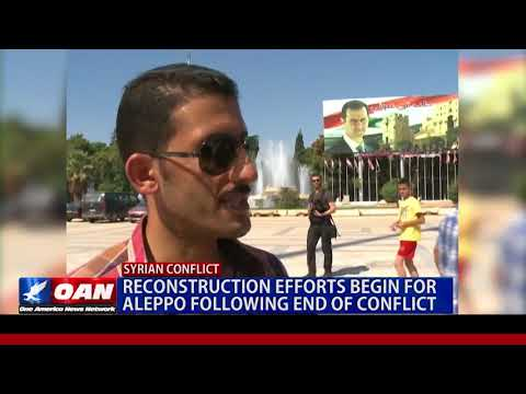 Reconstruction Efforts Begin For Aleppo Following End of Conflict