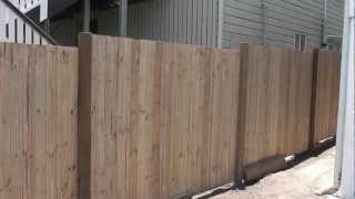 Manufactured Pine Fence Panels