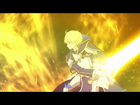 【Fate/Grand Order】Arthur Pendragon (Prototype) Noble Phantasm - アーサー・ペンドラゴン〔プロトタイプ〕 宝具 【English sub】