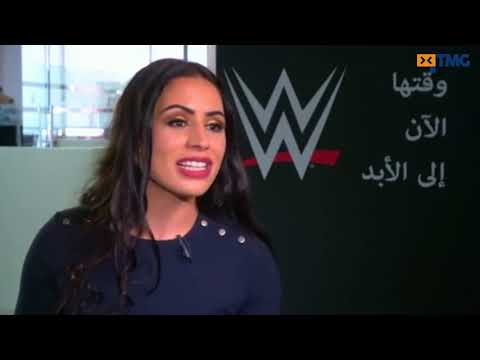 WWE signs first woman wrestler from the Arab world