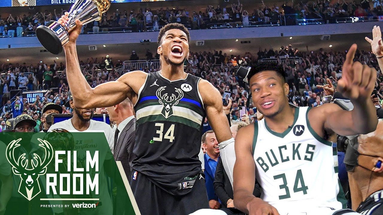 Download Giannis Reacts To His '50 Piece' NBA Finals Game 6 & Winning The Championship | Bucks Film Room