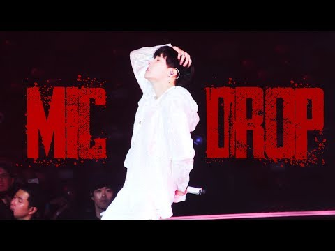 180906 Love Yourself World Tour in LA | Mic Drop 4K | 제이홉 직켐 J-Hope Focus