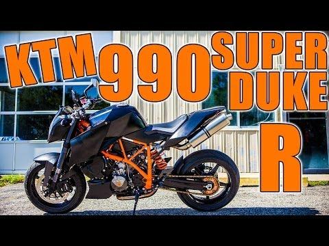 KTM 990 Super Duke R - Ride - Review - Motovlog