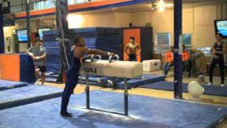 Illinois Intrasquad Pommel Horse