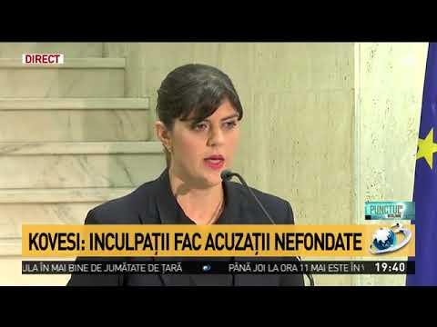 Laura Codruța Kovesi dă explicații după dezvăluirile făcute la Antena 3