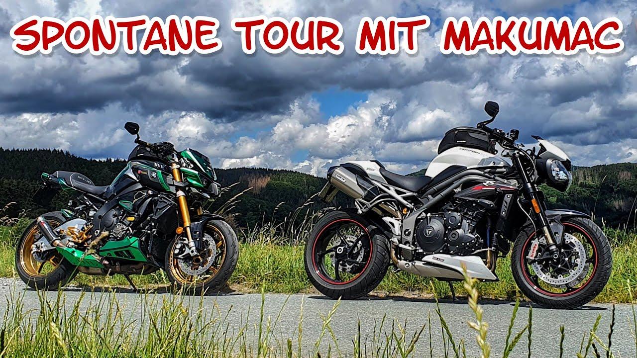Spontane Runde mit der MT-10 SP und Speed Triple RS | Dualvlog mit Makumac via Sena Mesh 2.0