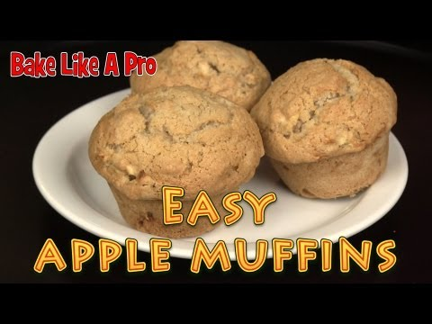Easy Apple Muffins Recipe  !