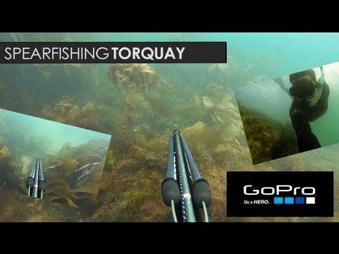 Spear Fishing In Torquay Devon