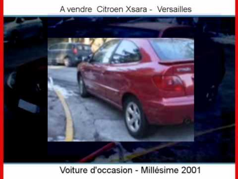 Achat Vente une Citroen Xsara  Versailles