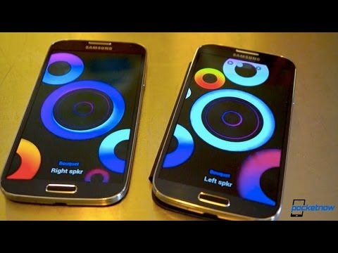 Galaxy S 4 Guided Tour: Gesture & Motion Features, Group Play, Easy Mode, & More