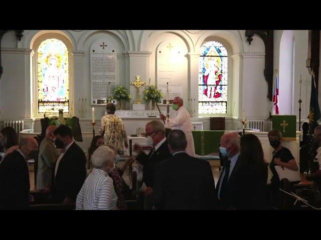 St. John's service September 12, 2021