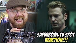 Avengers: Endgame Superbowl TV Spot - Reaction!!!