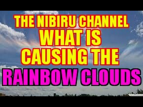 WHAT IS CAUSING THE RAINBOW CLOUDS SEEN AROUND THE WORLD?
